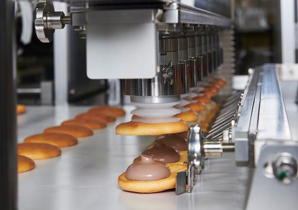 お菓子の一貫生産ライン 各種装置